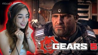 REACTING TO GEARS OF WAR 5 Official Trailer (2019) E3 2018 Game HD