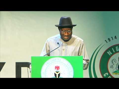 President Goodluck Jonathan's speech