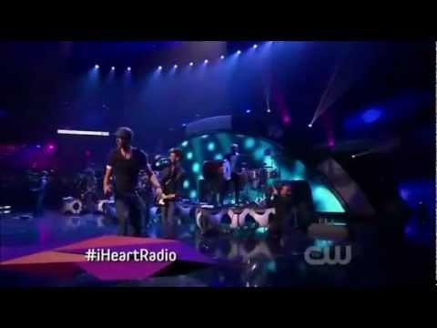 Enrique Iglesias - Finally Found You [live]  Iheartradio 2012 video