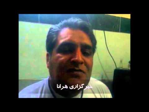 گزارش ویدیویی از آخرین سخنان سه زندانی پیش از اعدام