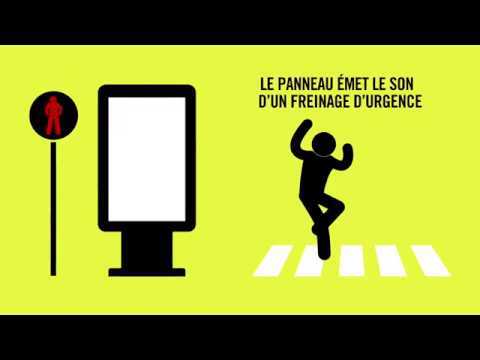El simulador de impactos para prevenir atropellos en París