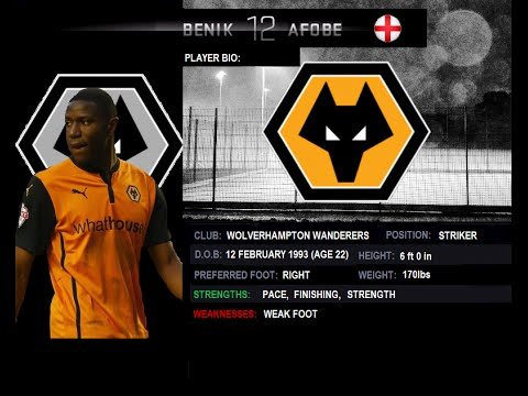Benik Afobe | Wolves | 2014-2015 Goals | Player Review