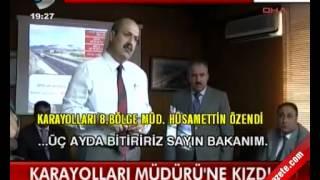 Ulaştırma bakanı yıldırım Karayolları Müdürü'ne Kızdı   (www.beyazgazete.com)
