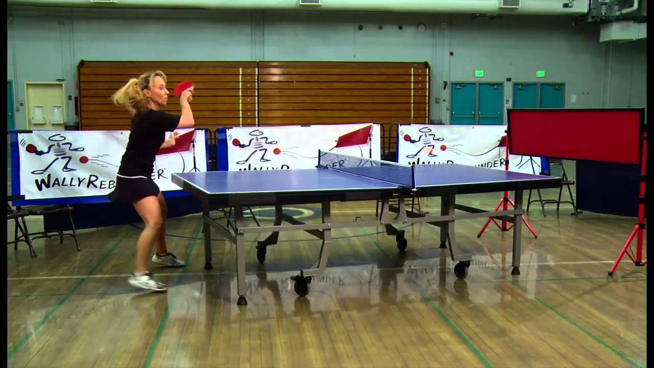 Play Table Tennis With Wally Rebounder S Return Board