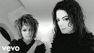 Michael Jackson Janet Jackson  Scream Official Vid