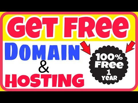 How To Get Free Domain & Web Hosting For Wordpress Website And Make Free Website Urdu Hindi Video
