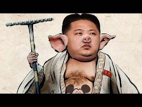 Anonymous Calls Out, Hacks North Korea video