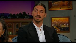 ❗️Zlatan Ibrahimović ROASTS Cristiano Ronaldo 😮🤬 on the LATE LATE SHOW