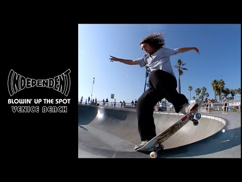 Milton, Mason & Friends: Blow'n Up The Spot | Venice Skatepark