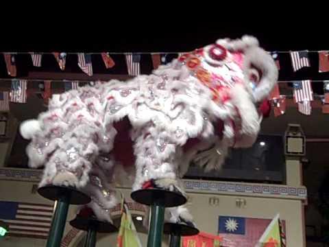 Lion Dancing Pole Lion Dance on Poles