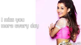 Ariana Grande - Better Left Unsaid (with lyrics)