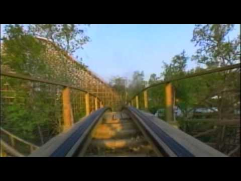 The Legend Wooden Roller Coaster Front Seat POV Holiday World