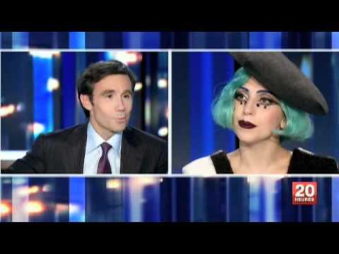 Lady Gaga JT 20h France 2 13/06/2011