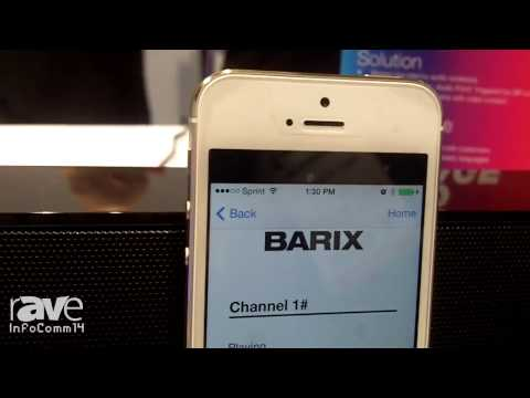 InfoComm 2014: Barix Details Targeted Content from Screens to Smart Phones
