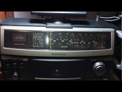 Radio Shack 12-795 Shortwave Receiver AM Broadcast Surfing Like Emerson MBR-1 Realistic SW-100