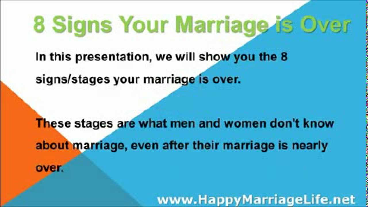 Surviving the 7 stages of marriage