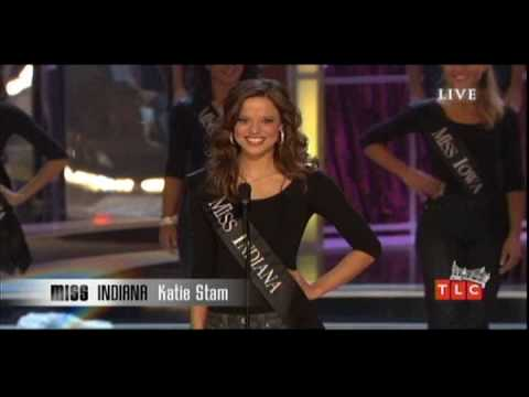 Swimsuit | Gown | Talent | On-stage Question | Crowning: Miss America 2009 Katie Stam Video