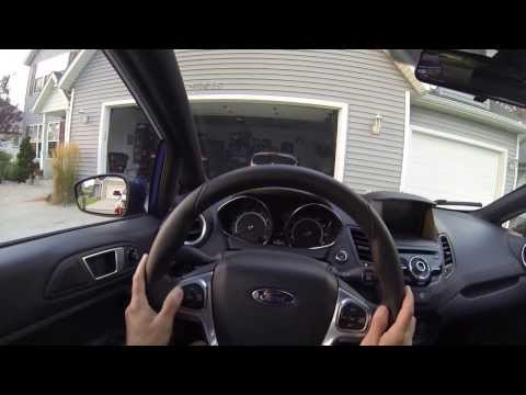 2014 Ford Fiesta ST POV Interior Features and Review in 1080 HD