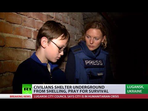 Humanitarian Crisis: No water, power, comms in Lugansk, E. Ukraine