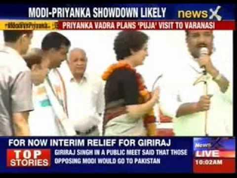 Priyanka Gandhi Vadra plans 'Puja' visit to Varanasi