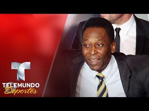Pelé le pidió a Messi que no deje la selección de Argentina   Deporte Rosa   Telemundo Deportes