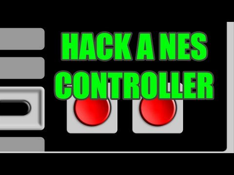 How to Hack a NES controller