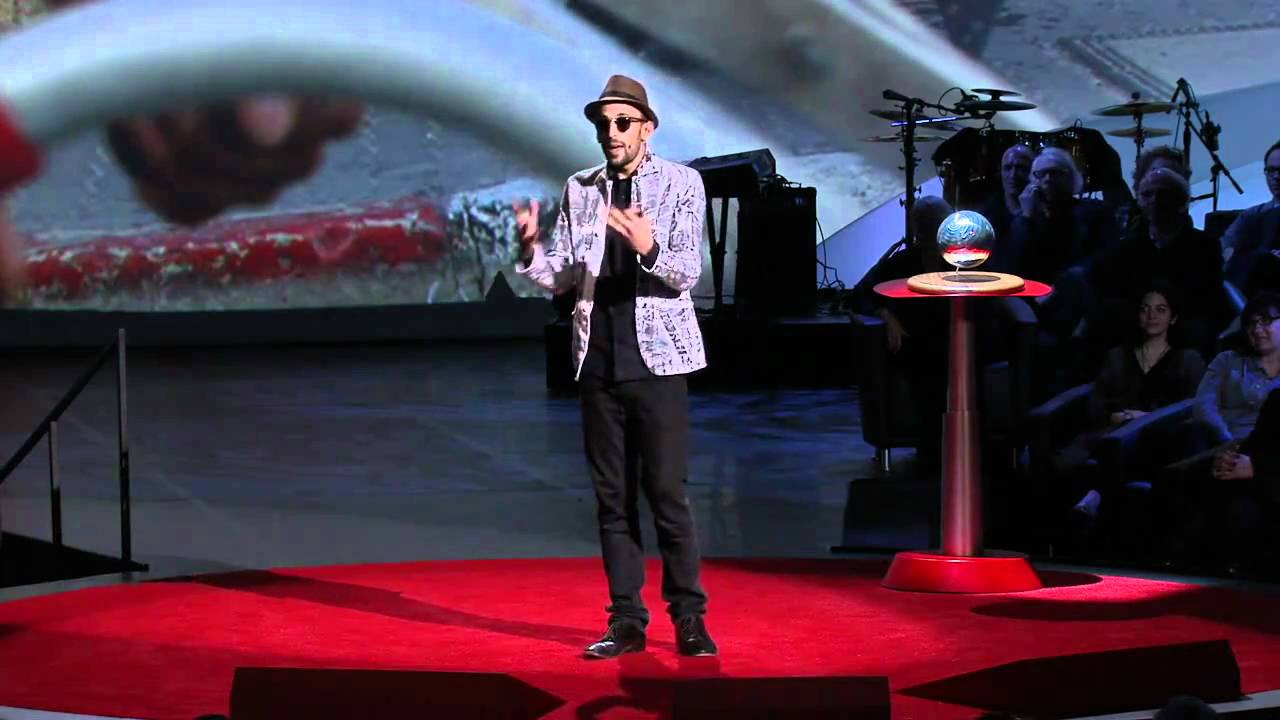JRs TED Prize Wish Use Art To Turn The World Inside Out YouTube