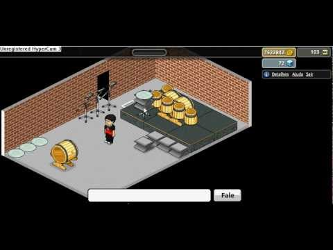 Construindo Bateria no Habbo