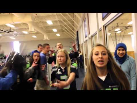 Im The (12th) Man - Seattle Seahawks Everett High School Lip...