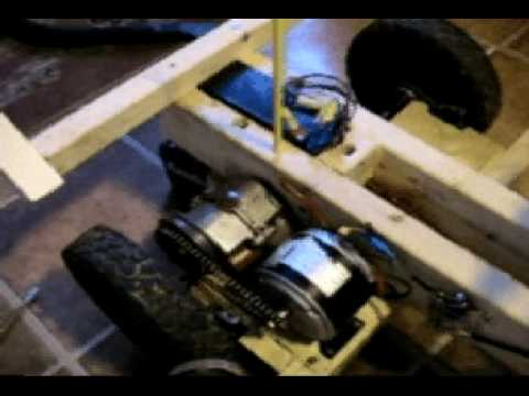 how to make a homemade go kart out of wood