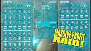 Massive Profit Raid! (Ark Pirates Official Pvp) - Ark:Survival Evolved - Ep.9