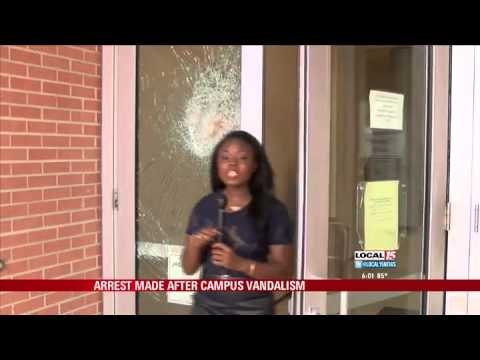 Former USA Student Arrested For Vandalizing Campus