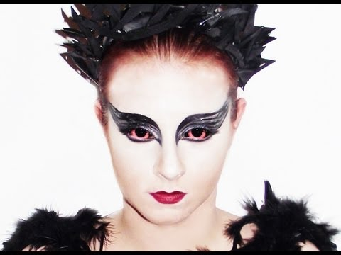 Swan Face Makeup Black Swan Makeup Tutorial