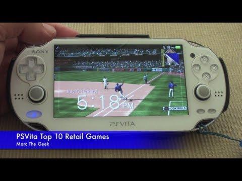 PSVita: MY Top 10 Retail Games