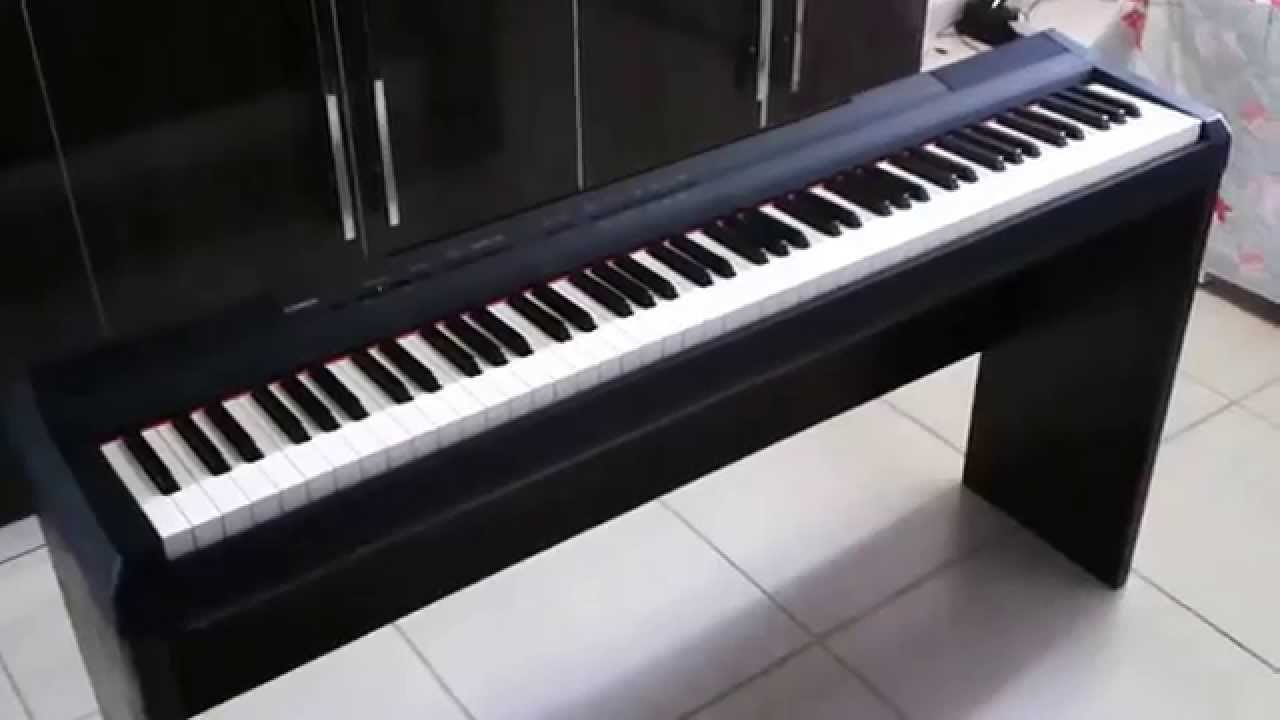 Yamaha Electric Piano Dimensions
