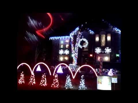 Christmas house animated lights music show texas youtube for Christmas house music