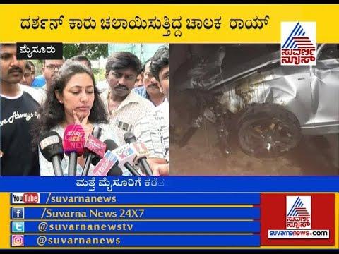 Darshan's Wife Vijayalakshmi Reacts After Visiting Hospital At Mysuru thumbnail
