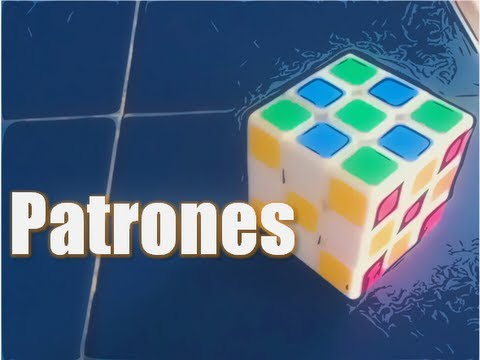 Rubik's Cube Patrones/Patterns en Español