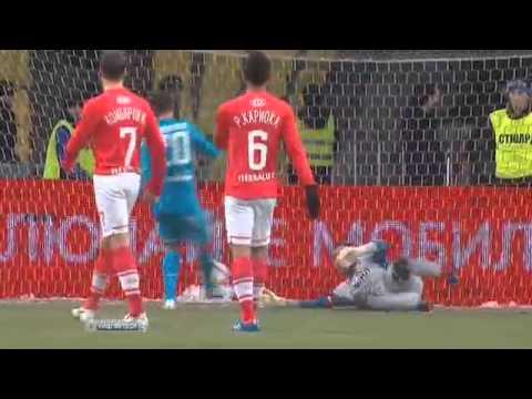 Все голы Зенита в премьер-лиге-2012/13