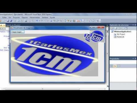 Como hacer un visor de imágenes en Visual basic 2010