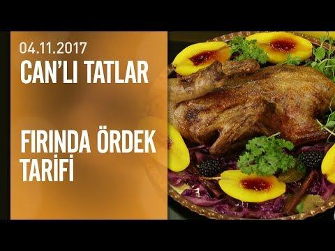 Can Oba'dan fırında ördek tarifi - Can'lı Tatlar 04.11.2017 Cumartesi