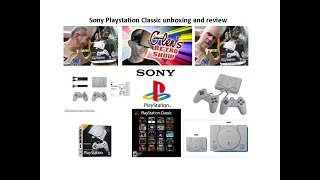 Sony Playstation Classic unboxing and review $59.99