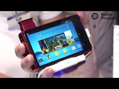 Samsung Galaxy Camera (Android Camera) Preview (IFA 2012 /BesteProduct