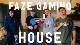 THE NEW FAZE GAMING HOUSE!