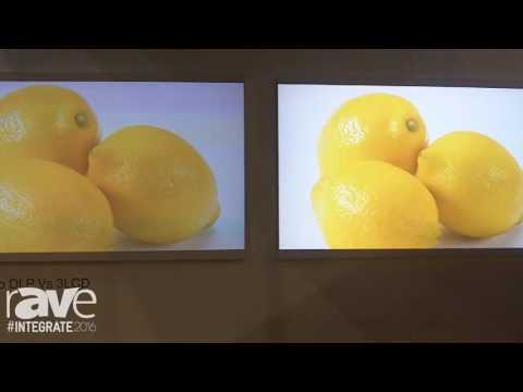 Integrate 2016: EPSON Demos a Brightness Shootout Between a 3LCD and DLP Projector