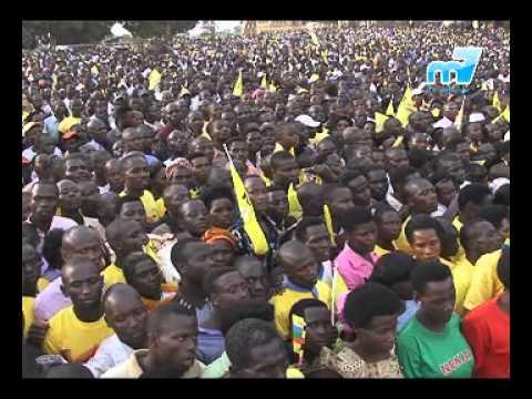 Kalonzo Join President Yoweri Museveni during Campaign Trail in Western Uganda