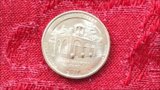 2016P HARPERS FERRY QUARTER VERY COOL FIND WHILE COIN ROLL HUNTING!!