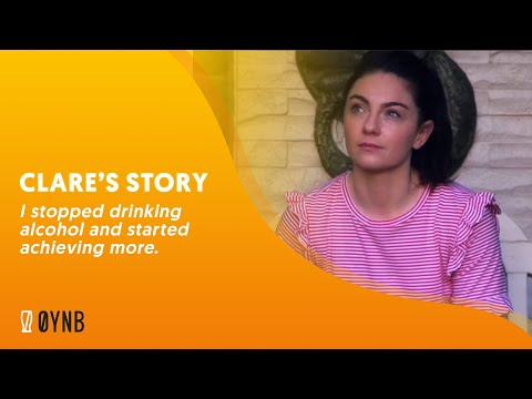 Clare's story - I stopped drinking alcohol and started achieving more.