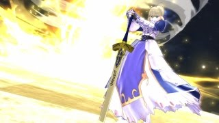 Fate/EXTELLA 【宝具まとめ・16騎+勝利ポーズ】