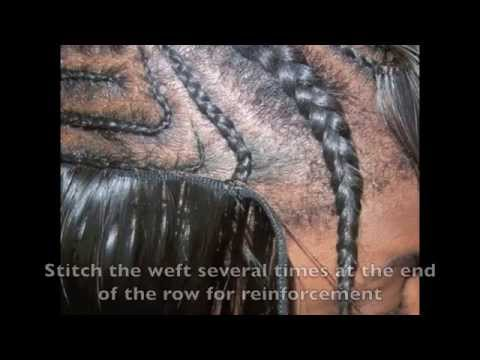 ☏ How To: Meagan Good/Aaliyah Swoop Bang Sew In Tutorial (RE-UPLOAD)